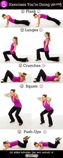 ćwiczenia które prawdopodobnie robisz źle
