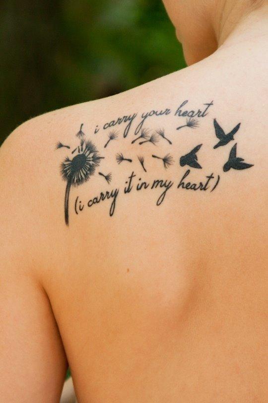 Noszę Twoje Serce Noszę Je W Moim Sercu Na Tatuaże