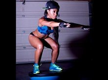 Squat Challenge Combo with @KeairaLaShae ! Tym musze się podzielić :D uwielbi...