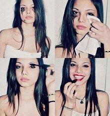 dziewczyna # makijaż # uśmi...