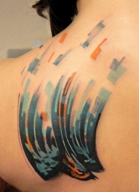 Jaskółka Tatuaż Na łopatce Na Tatuaże Zszywkapl