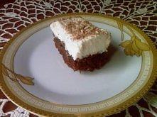 CIASTO CZEKOLADOWO-KAWOWE Z MASA SEROWĄ Ciasto :  szklanka mąki  1/3 szklanki cukru  łyżka kakao  łyżka kawy mielonej  łyżeczka proszku do pieczenia  spora szczypta imbiru i cyn...