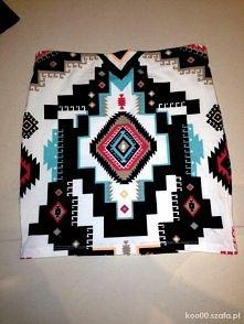Aztecka spódniczka :)