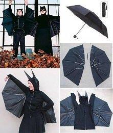 Skrzydła z parasolki