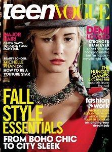 Demi Lovato for Teen Vogue November 2013