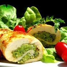 Roladki z brokułem i fetą
