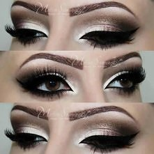piękny makijaż<3