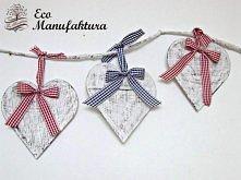 świąteczna dekoracja hand made by Eco Manufaktura