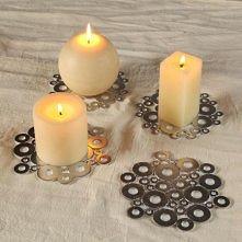 Podstawki pod świeczki