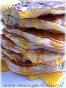 Bananowe pancakes   Składni...