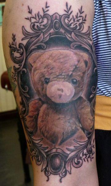 Tatuaż Miś Na Wzory Tatuaży Zszywkapl
