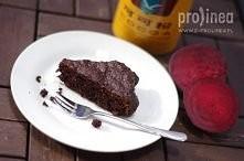 Obłędnie czekoladowe ciasto...