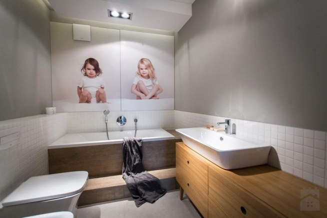 łazienka Styl Skandynawski Emdesign Home Decoration Na