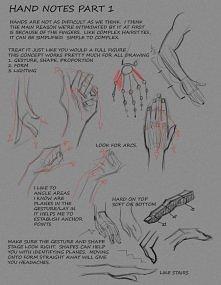 rysowanie dłoni by FUNKYMON...