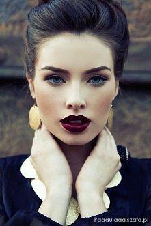 Jesienny makijaż :)