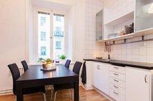 Sztokholm, kawalerka, kuchnia