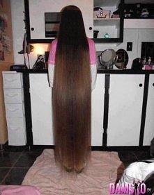 też chce mieć długie włosy ale to już lekka przesada ;o