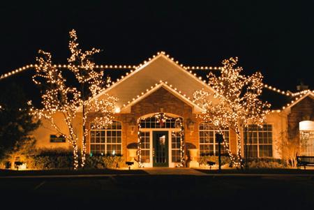 Oświetlenie Domu Na święta Na święta Zszywkapl