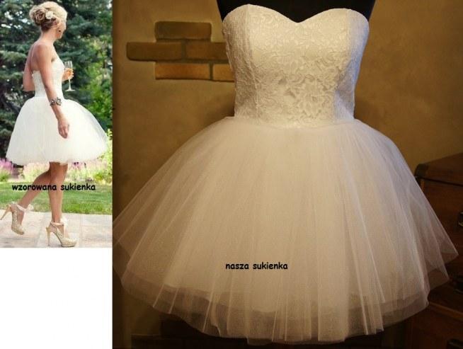 3e30e072 hand made -Sukienka o kroju rozkloszowanym -sukienka wykonana .. na ...