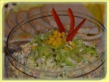 salatka z porem