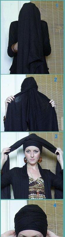 Jak założyć turban . Dla os...