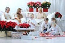 Spędzanie czasu z rodziną przy wigilijnym stole :)