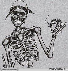 skeleton z bandaną ;)