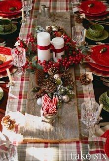 Jak ozdobić stół na święta? O to jedna z moich propozycji. Jedna z lepszych j...