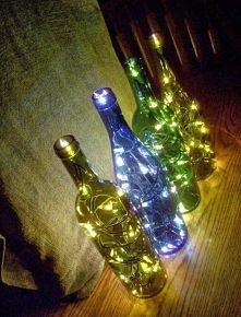 Lampka z świątecznych lampek :D