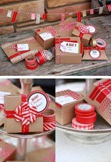 Pomysł na pakowanie prezentów
