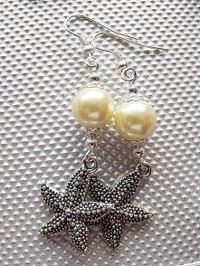 Kolczyki cytrynowe- rozgwiazdy