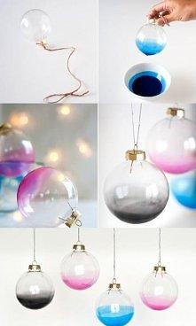 Kilka pomysłów na dekoracje świąteczne <3