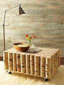 Brzozowy stolik