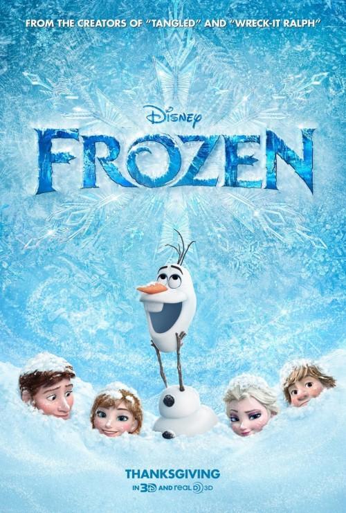 Kraina lodu - bałwanek Olaf wymiata :D