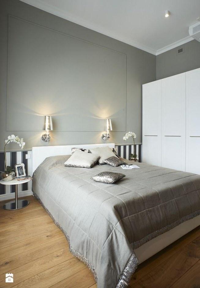 Mieszkanie W Stylu Glamour Sypialnia Styl Glamour Le