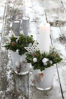Świąteczne stroiki -ozdobą ...