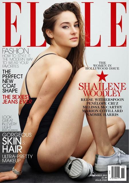 Shailene Woodley in Elle US November 2013