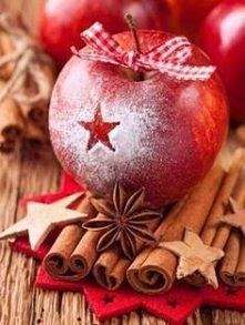 cynamon, jabłuszka i czekamy na święta