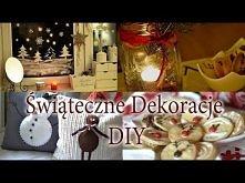 Świąteczne dekoracje DIY | loveandgreatshoes <---- SUPER POMYSŁY :)