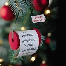 świąteczna lista życzeń :)