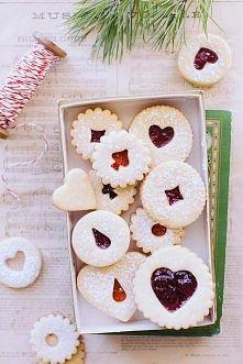 słodkie świąteczne ciasteczka