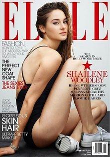 Shailene Woodley in Elle US...