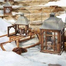 zimowa dekoracja