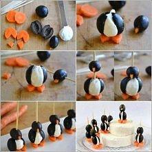 pingwinkowe koreczki