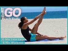 BeFiT GO   Beach Body- Lean Legs and Abs Workout