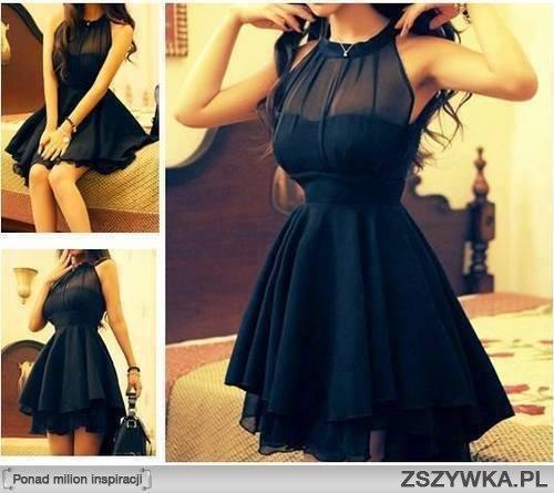 Moja studniówkowa sukienka ^^