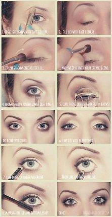codzienny make-up ; )