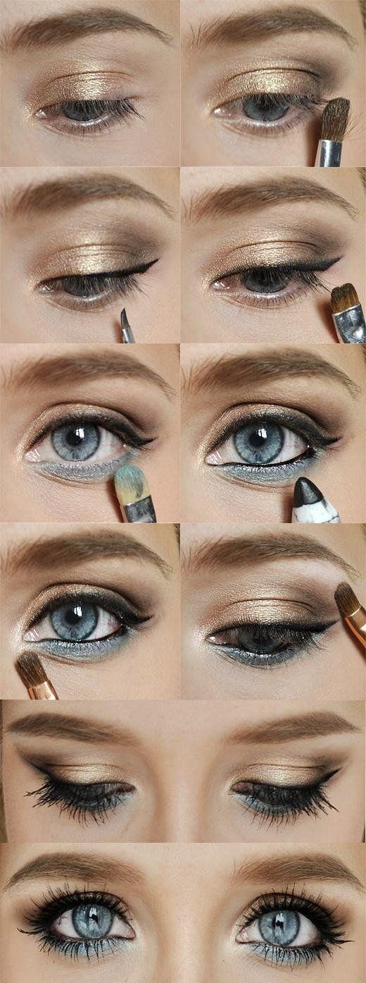 makijaż na sylwestra i na co dzień ;)