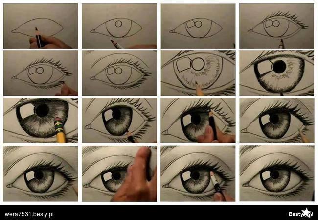 jak narysować oko na Pomysły