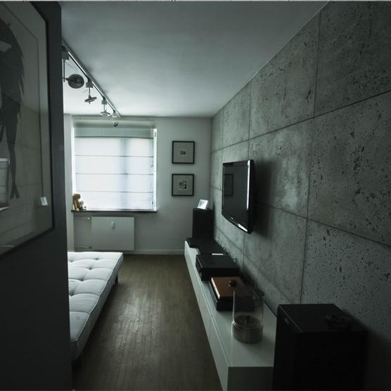 13f0be7dd208d9 beton we wnętrzu na Wnętrza - Zszywka.pl